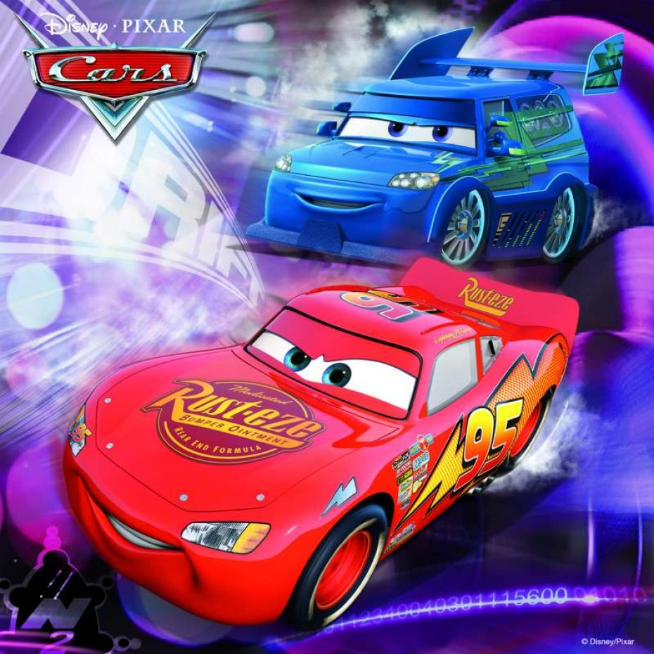 Disney Cars 3x49pc Puzzle - Ravensburger