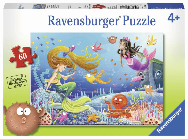Mermaid Tales Puzzle 60pc - Ravensburger