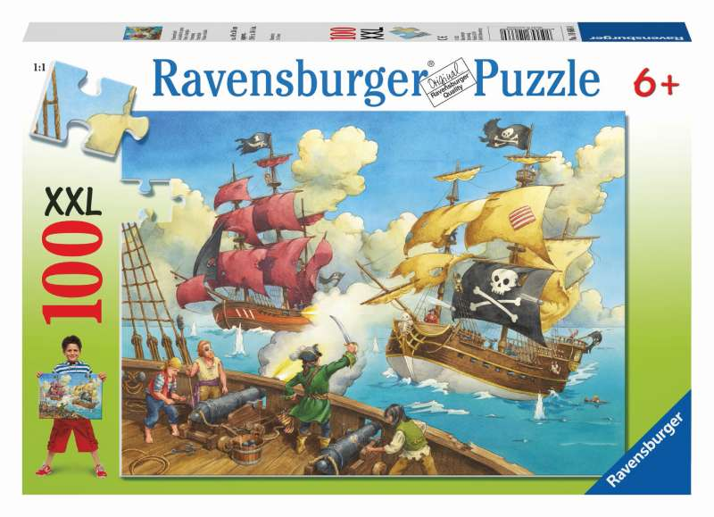 Pirate Battle Puzzle 100pc - Ravensburger