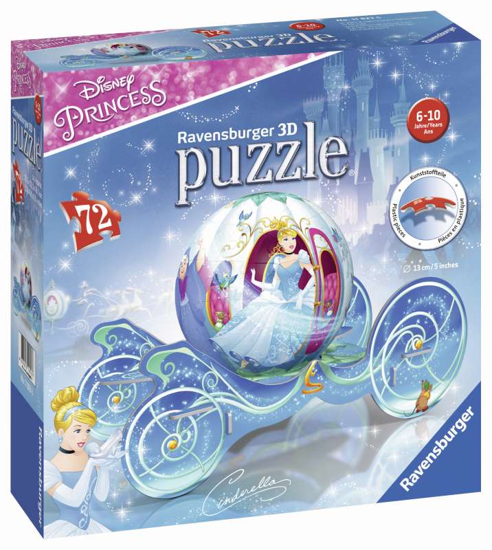 Disney Cinderella Carriage 3D Puzzle - Ravensburger
