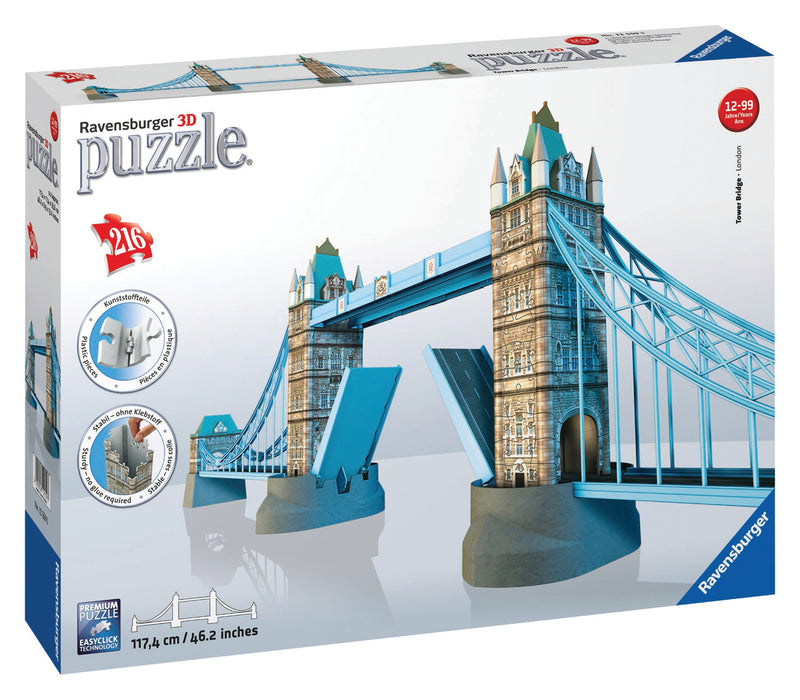 Tower Bridge 3D Puzzle - Ravensburger