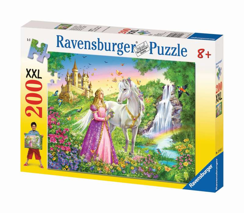 Princess Horse Puzzle 200pc - Ravensburger