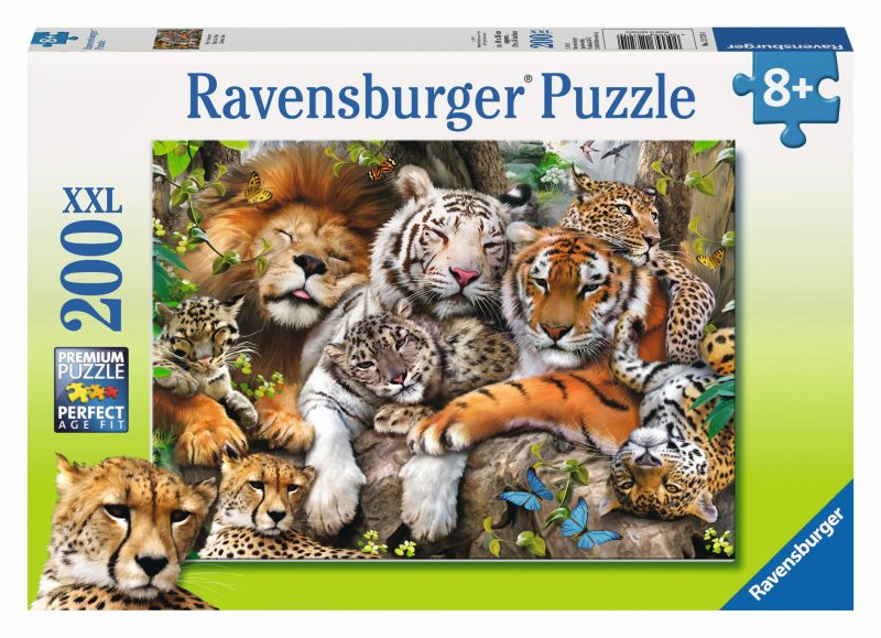 Big Cat Nap 200pc Puzzle - Ravensburger