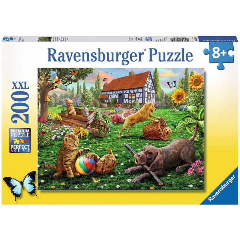 Playing in the Yard 200pc Puzzle - Ravensburger