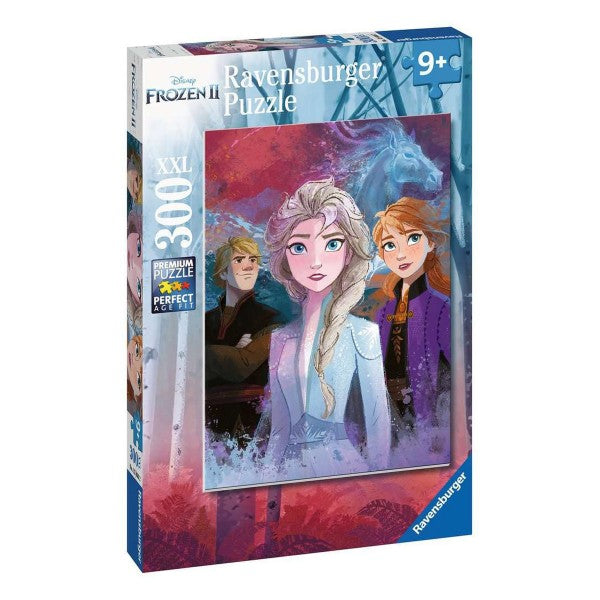 Disney Frozen 2 Elsa, Anna and Kristoff 300pc Puzzle - Ravensburger