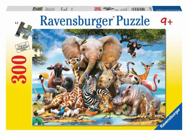 Favourite Wild Animals 300pc Puzzle - Ravensburger
