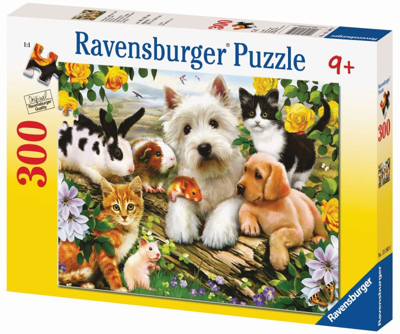 Happy Animal Buddies 300pc Puzzle - Ravensburger