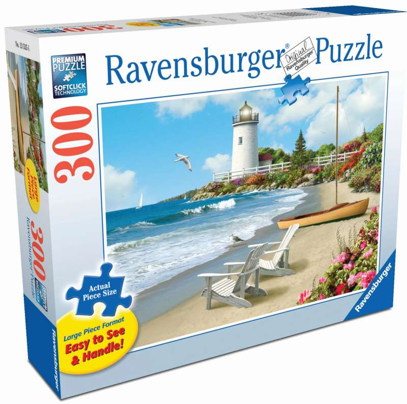 Sunlit Shores Large Format 300pc Puzzle - Ravensburger