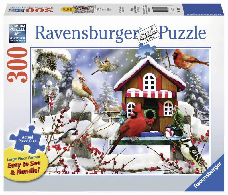 The Lodge Large Format 300pc Puzzle - Ravensburger