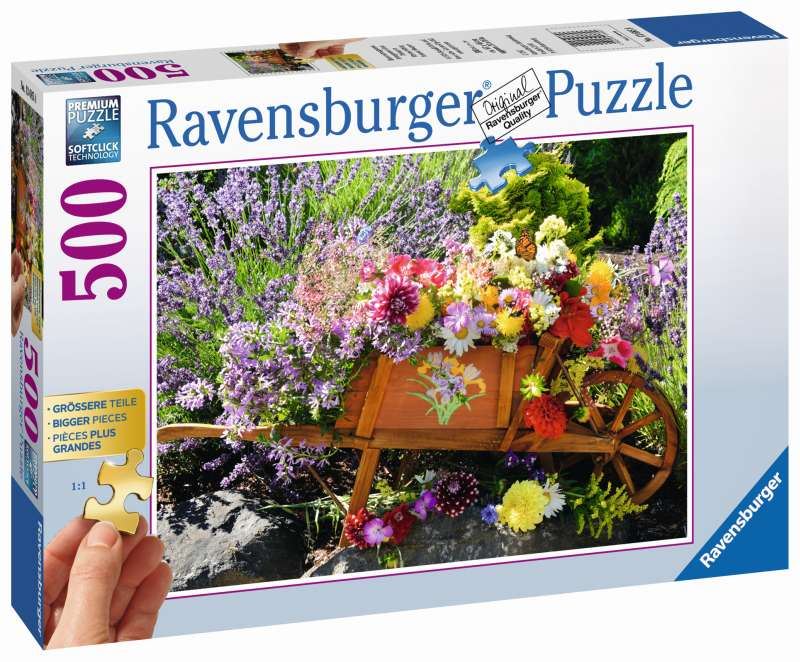 Summer Bouquet 500pc Puzzle - Ravensburger