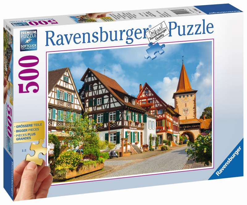 Gengenbach Germany 500pc Puzzle - Ravensburger
