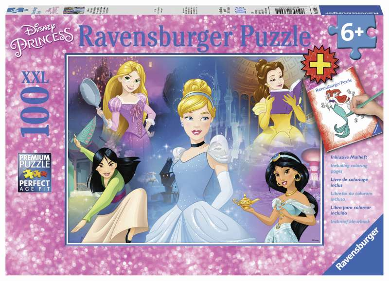 Disney Charming Princesses 100pc XXL Puzzle - Ravensburger