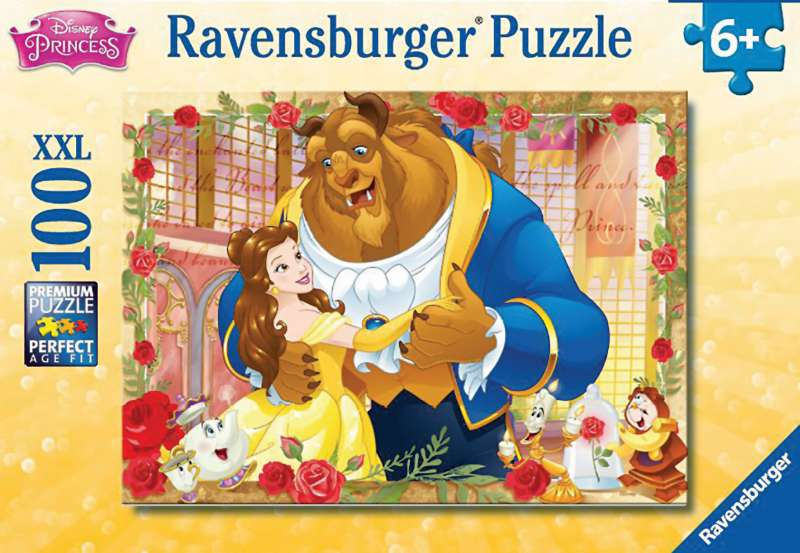 Disney Belle & Beast 100pc XXL Puzzle - Ravensburger