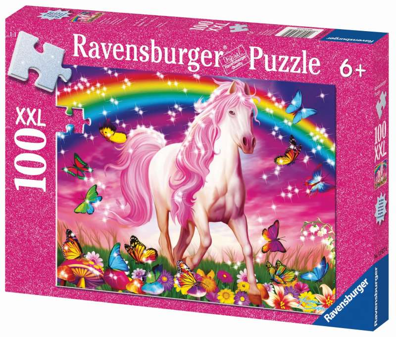 Horse Dream Glitter Puzzle 100pc - Ravensburger