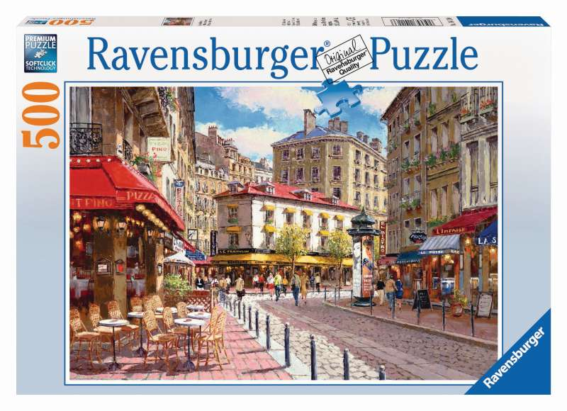 Quaint Shops Puzzle 500pc - Ravensburger