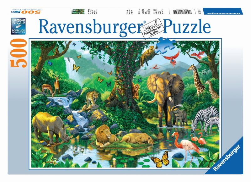 Harmony in the Jungle 500pc Puzzle - Ravensburger