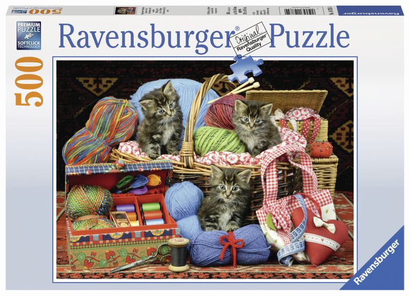 Knitters Delight 500pc Puzzle - Ravensburger