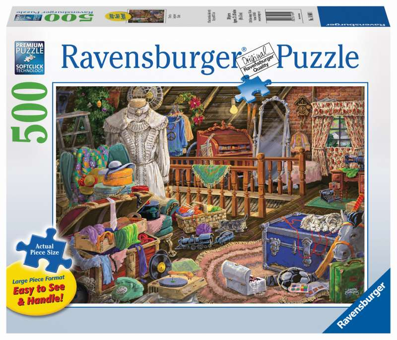 The Attic Large Format 500pc Puzzle - Ravensburger