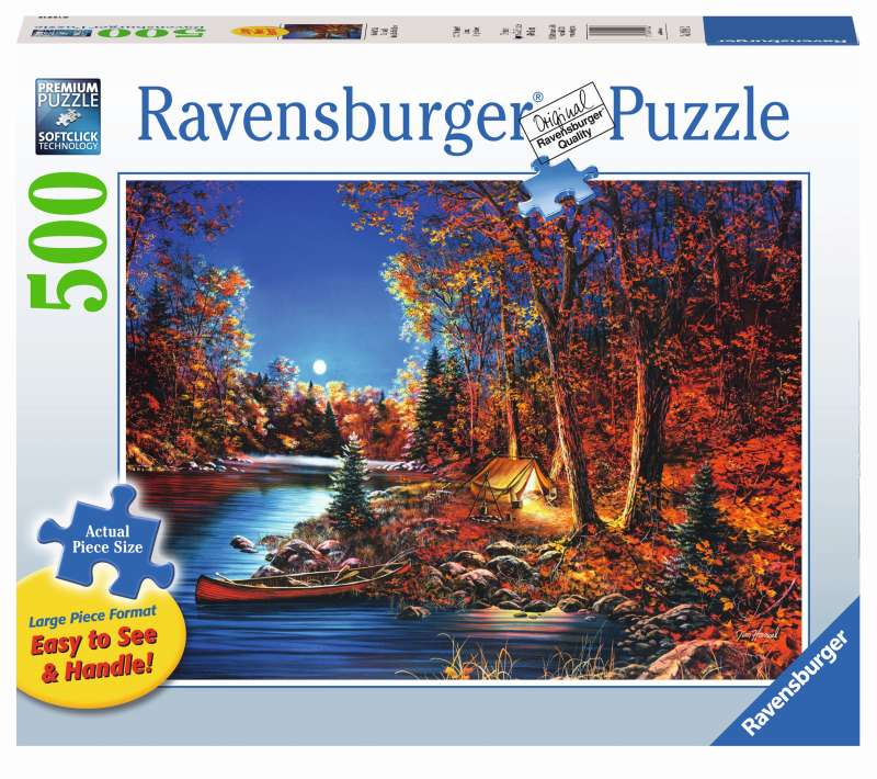 Still of the Night Large Format 500pc Puzzle - Ravensburger