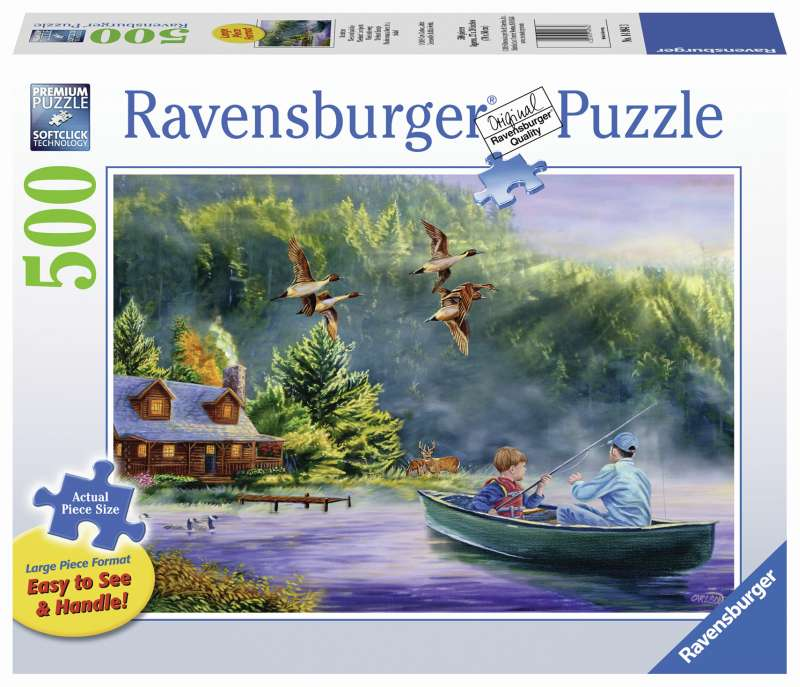 Weekend Escape Large Format 500pc Puzzle - Ravensburger