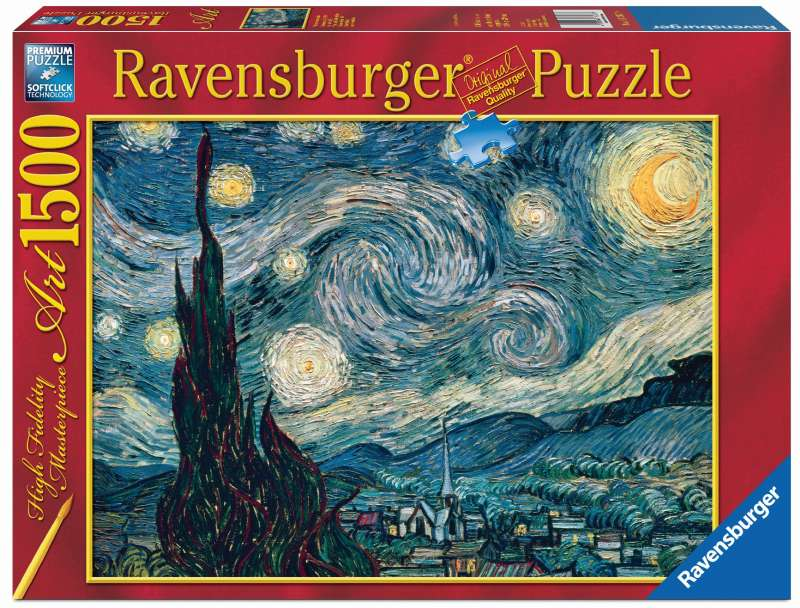 Van Gogh Starry Night Puzzle 1500pc - Ravensburger