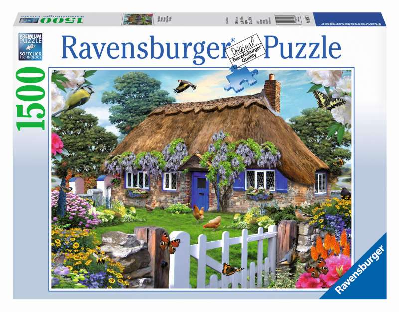 Howard Robinston Cottage Puzzle 1500pc - Ravensburger
