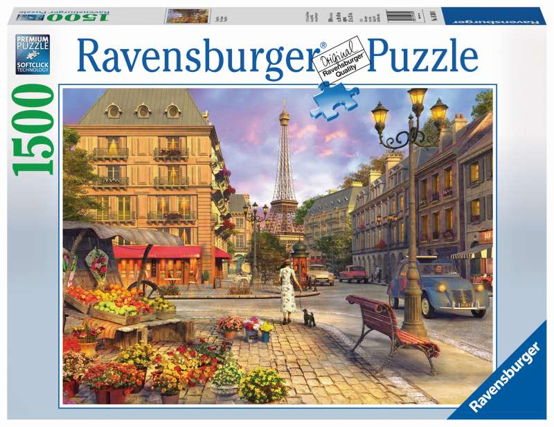 Vintage Paris Puzzle 1500pc - Ravensburger