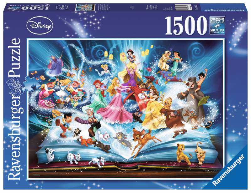 Disney Magical Storybook Puzzle 1500pc - Ravensburger