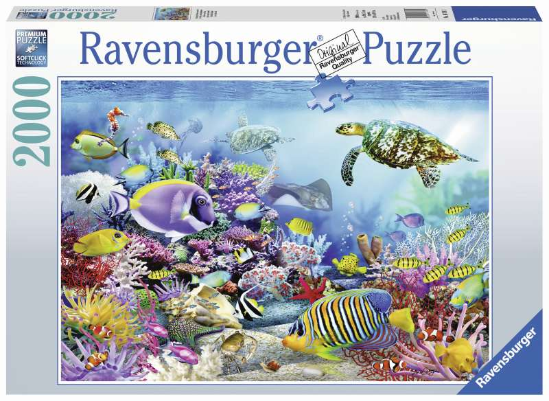 Coral Reef Majesty Puzzle 2000pc - Ravensburger