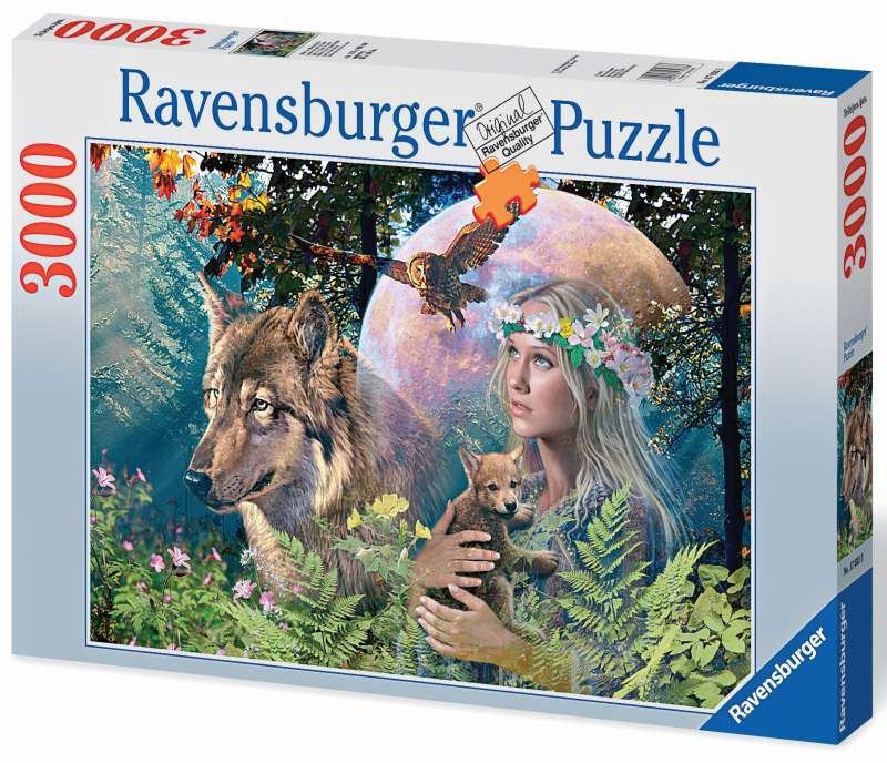 Lady of the Forest Puzzle 3000pc - Ravensburger