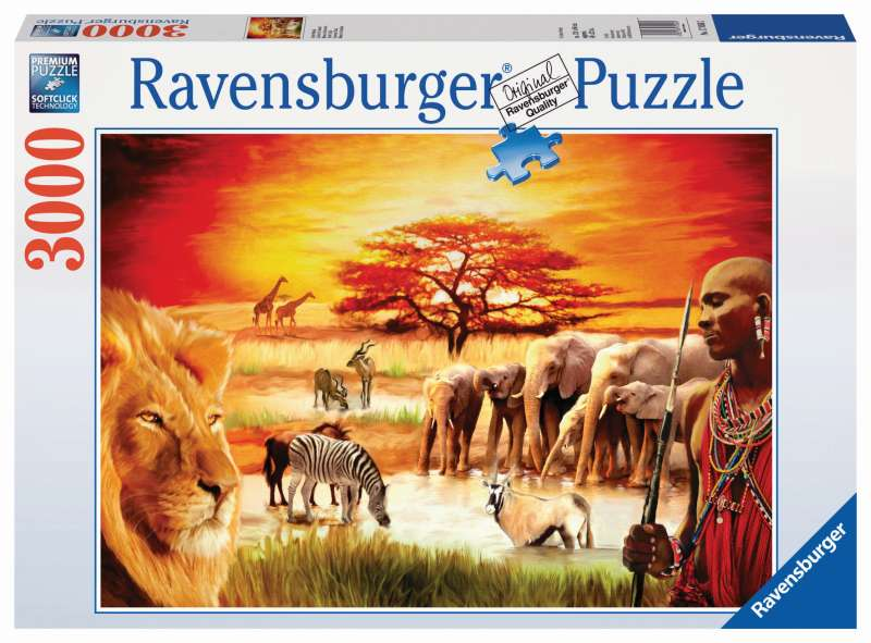 Proud Maasai Puzzle 3000pc - Ravensburger