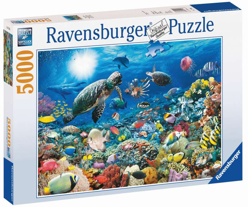 Beneath the Sea Puzzle 5000pc - Ravensburger