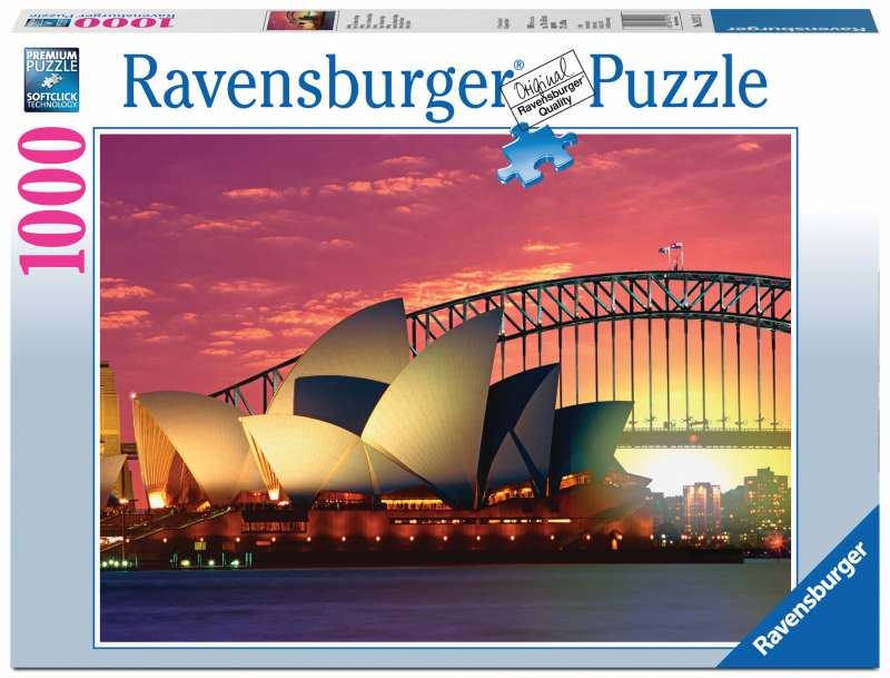 Opera House BR Puzzle 1000pc - Ravensburger