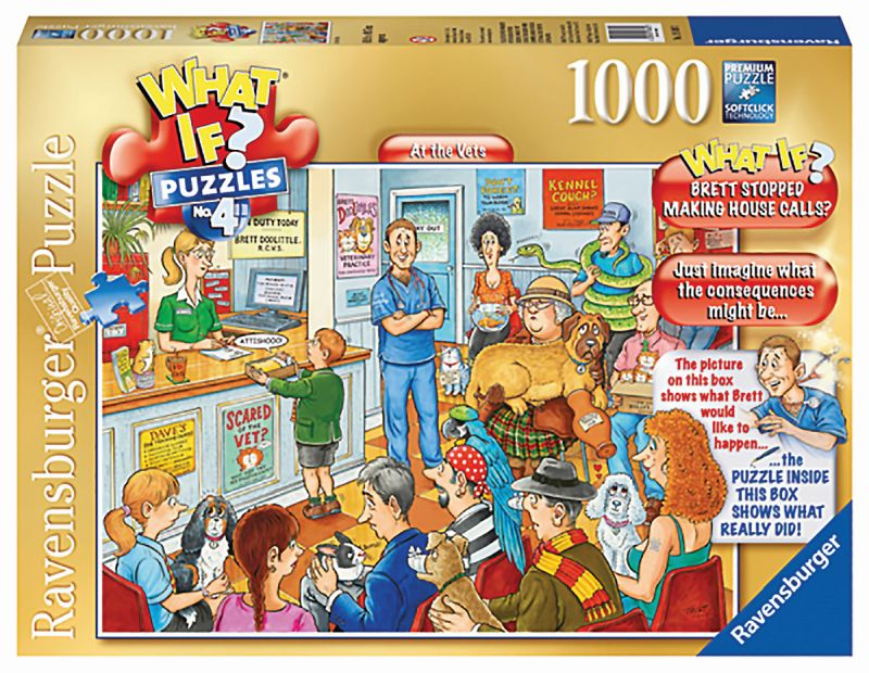 WHAT IF? No 4 At the Vets 1000pc Puzzle - Ravensburger