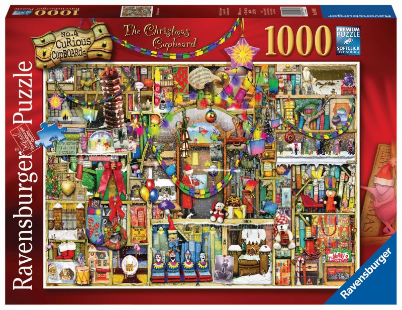 Christmas Cupboard Colin Thompson 1000pc Puzzle - Ravensburger