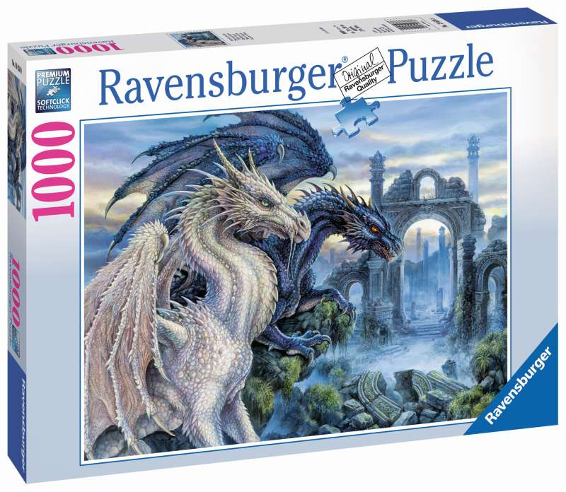 Mystical Dragon 1000pc Puzzle - Ravensburger