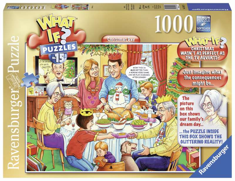 WHATIF? No 15 Christmas Day 1000pc Puzzle - Ravensburger
