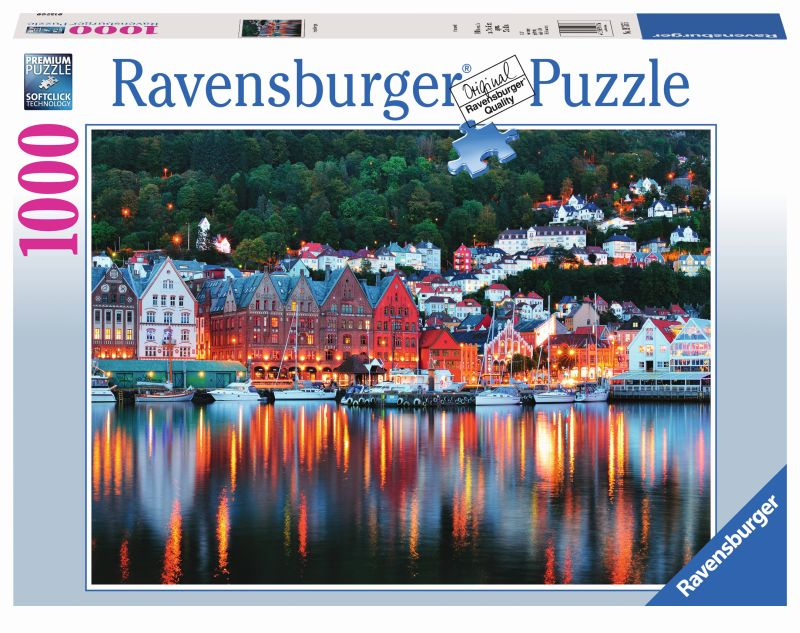Bergen Norway 1000pc Puzzle - Ravensburger