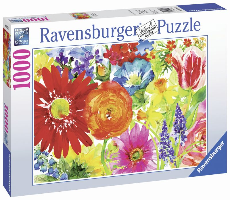 Abundant Blooms 1000pc Puzzle - Ravensburger