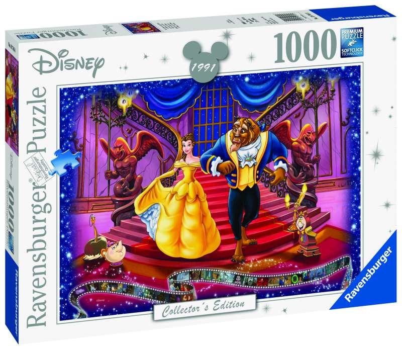 Disney Beauty & Beast 1000pc Puzzle - Ravensburger
