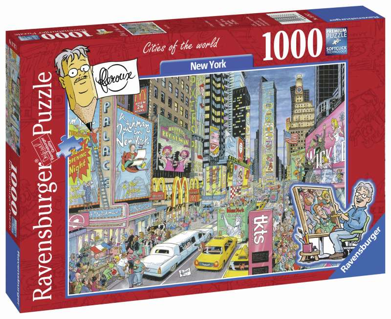 New York 1000pc Puzzle - Ravensburger