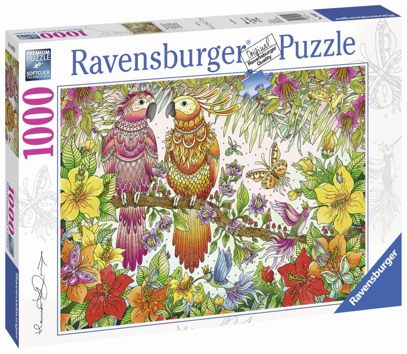 Tropical Feeling 1000pc Puzzle - Ravensburger