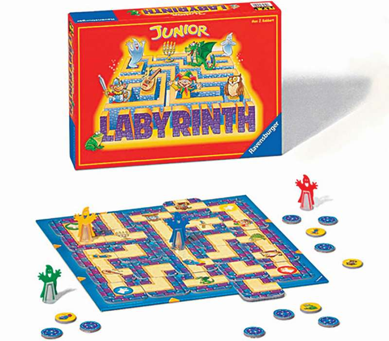 Junior Labyrinth Board Game - Ravensburger