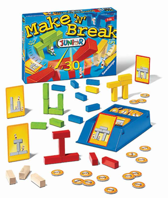 Make n Break Junior Game - Ravensburger