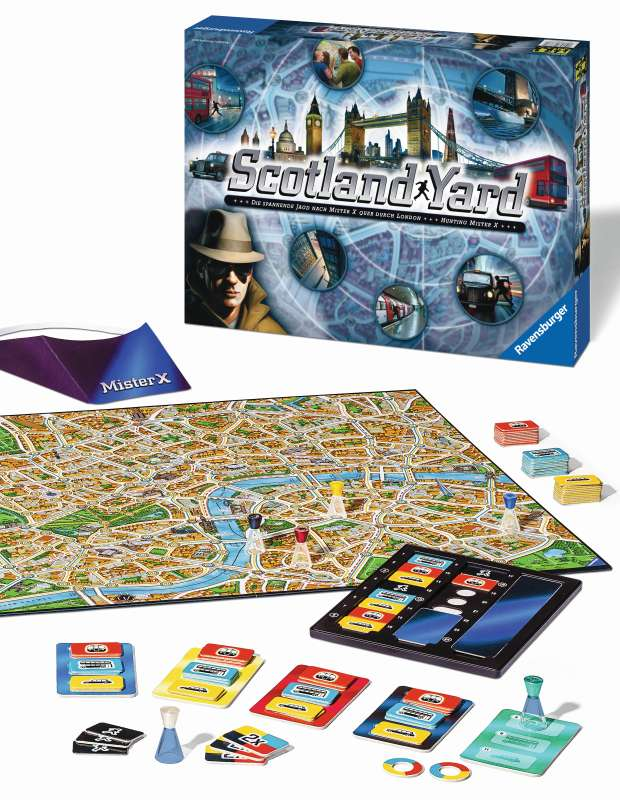 New Scotland Yard Game - Ravensburger