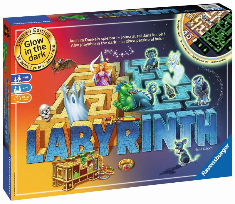 Glow in the Dark Labyrinth Game - Ravensburger