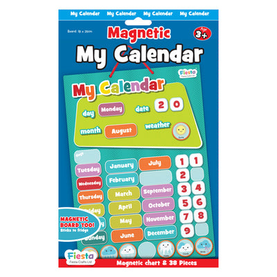 Magnetic My Calendar - Fiesta Crafts