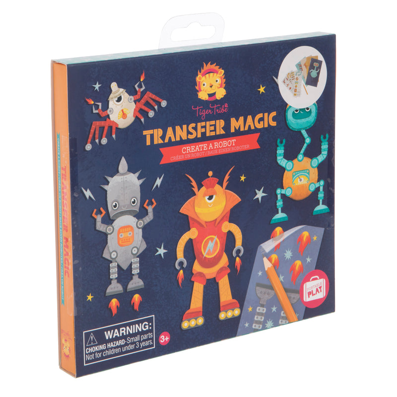 Transfer Magic Create a Robot - Tiger Tribe