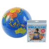Inflatable World Globe 30cm - Tiger Tribe