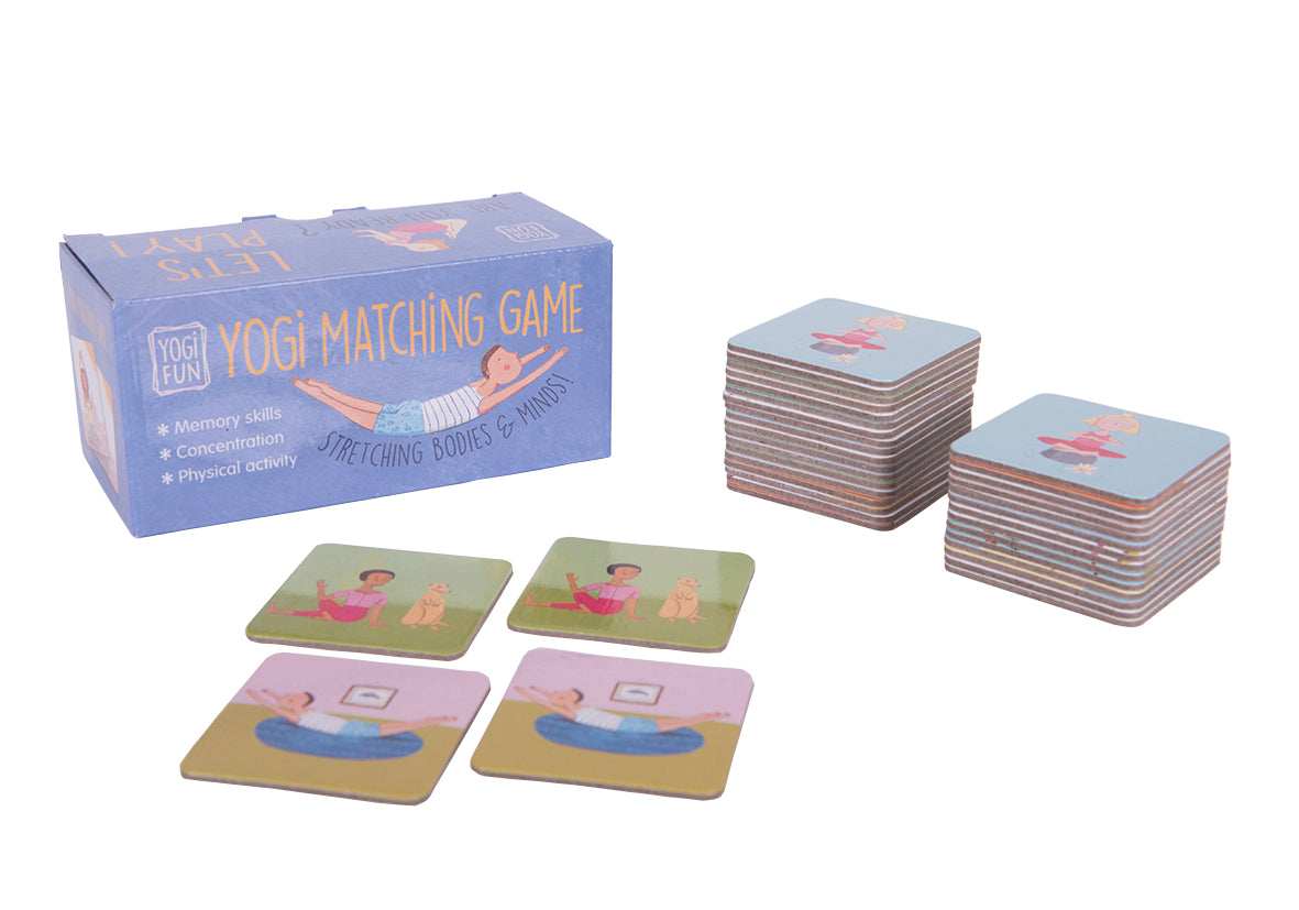 Yoga Matching Game - Yogi Fun